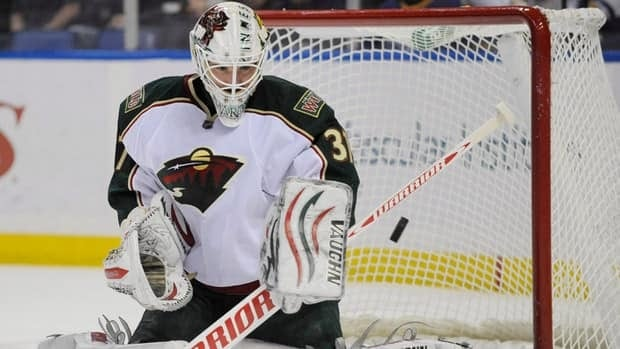 Minnesota Wild goalie Josh Harding was diagnosed with multiple sclerosis this summer but hadn't experienced any setbacks or complications before now.