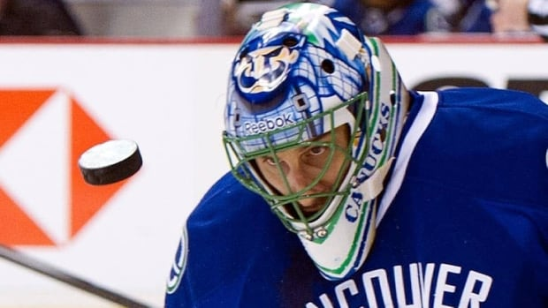 Roberto Luongo, seen before a Vancouver Canucks home game on Jan. 20, held an interesting press conference Wednesday.