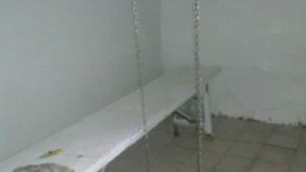 These exclusive images of the room were obtained by CBC News.