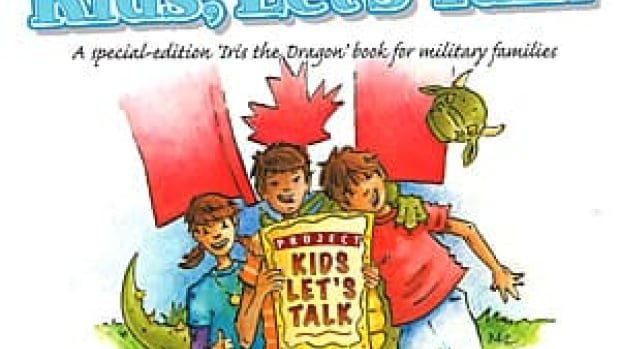 A charity called Iris the Dragon paired up with the Canadian Forces to produce a book for children in military families to encourage them to talk about their feelings and mental health.