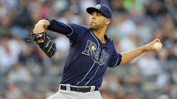 Tampa Bay Rays starting pitcher David Price was 20-5 with a 2.56 ERA last season.