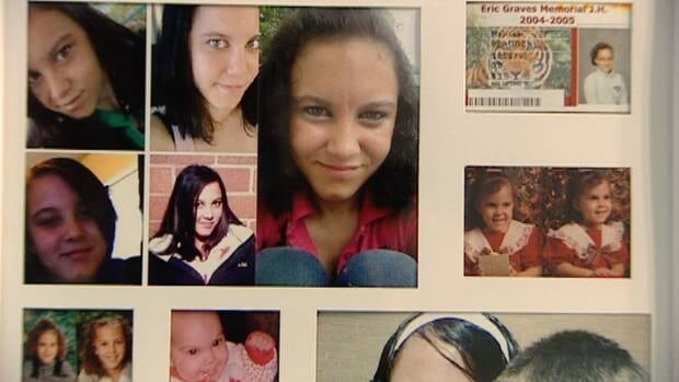 Melissa Peacock, seen here in family photos, was murdered in 2011.