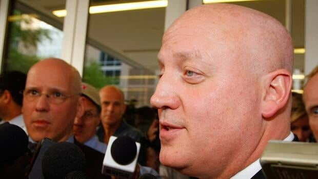 National Hockey League Deputy Commissioner Bill Daly, pictured in this file photo, will meet with NHLPA special counsel Steve Fehr in an undisclosed location on Saturday.