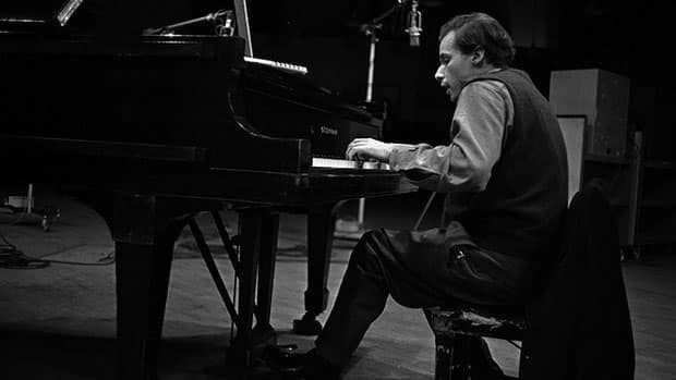 Glenn Gould was honoured by the American Recording Academy in Los Angeles on Saturday night.