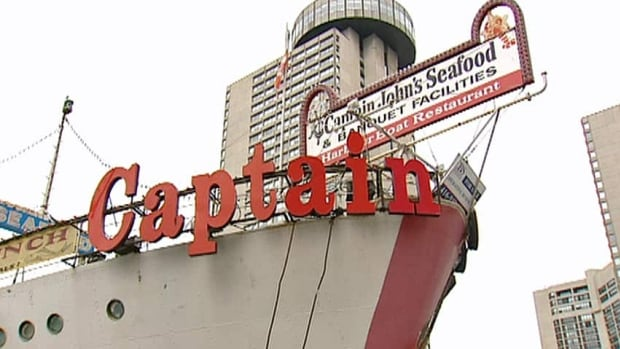 Years after its last meal was served, Captain John's restaurant was sold by court order on Thursday. The new owners hope to find a way to save the ship. Failing that, they intend to sell what they can and scrap the rest.