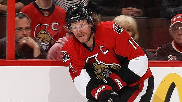 Daniel Alfredsson, 40, is pondering his future as his agent negotiates with the Ottawa Senators and other teams around the NHL. Alfredsson has spent his entire career with the Senators.