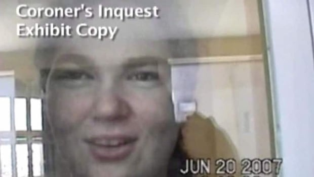 Ashley Smith is shown in this still image made from video. More than five years after a deeply disturbed teenager suffocated in her segregation cell, an inquest into her death that has already produced shocking surveillance videos has begun hearing evidence just weeks into the new year.