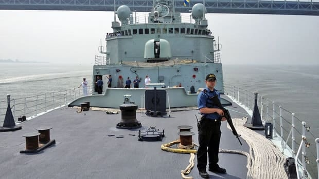 The Canadian federal government is soliciting proposals for how it might use biofuels to replace traditional diesel it's navy vessels.
