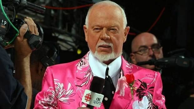 Don Cherry agrees sports leagues need proper codes of conduct around media access when players are undressed.