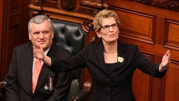 Kathleen Wynne was sworn in as Ontario's premier Feb. 11.