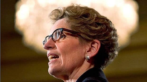 Ontario Premier Kathleen Wynne was impressed by the McMaster University study, which found 40% of GTHA workers are in precarious jobs.