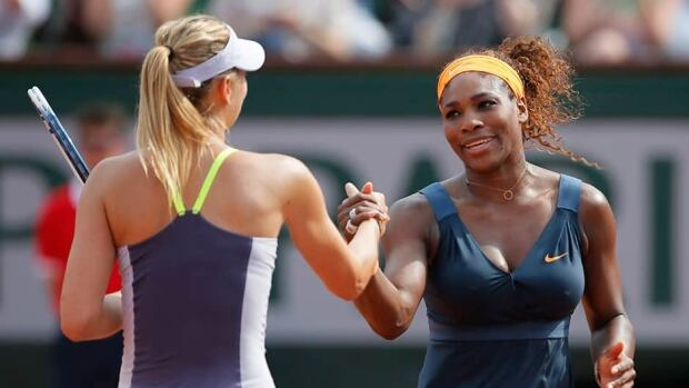 Serena Williams beat Maria Sharapova 6-1, 6-4 on Sunday in the final of the Madrid Open.