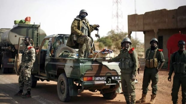 Malian forces are expected to get reinforcements from neighbouring countries - about 5,700 troops.