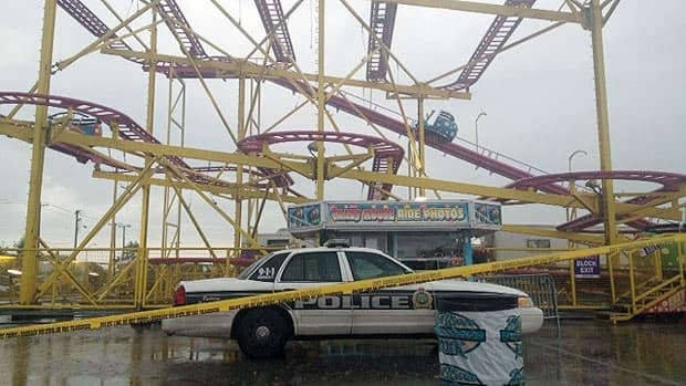 My Car North Bay >> Teen hit by roller-coaster car still in critical condition ...