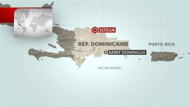 Quebec provincial police confirm an investigation into the sexual exploitation of children led investigators to a Montreal man at a resort in the Dominican Republic.