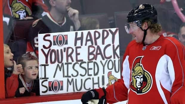 Captain Daniel Alfredsson and the Ottawa Senators open their season Saturday afternoon at Winnipeg.