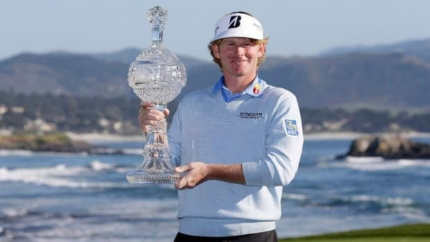 Brandt Snedeker hits his tee shot on the eighth hole during the second round of the Pebble Beach National Pro-Am at Spyglass Hill on Friday in Pebble Beach, Calif.