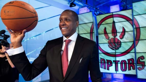 Masai Ujiri was Toronto's assistant GM from 2007-10 before joining the Nuggets.
