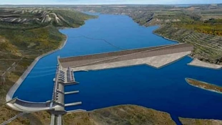 BC Hydro submits information on impact of Site C dam | CBC News