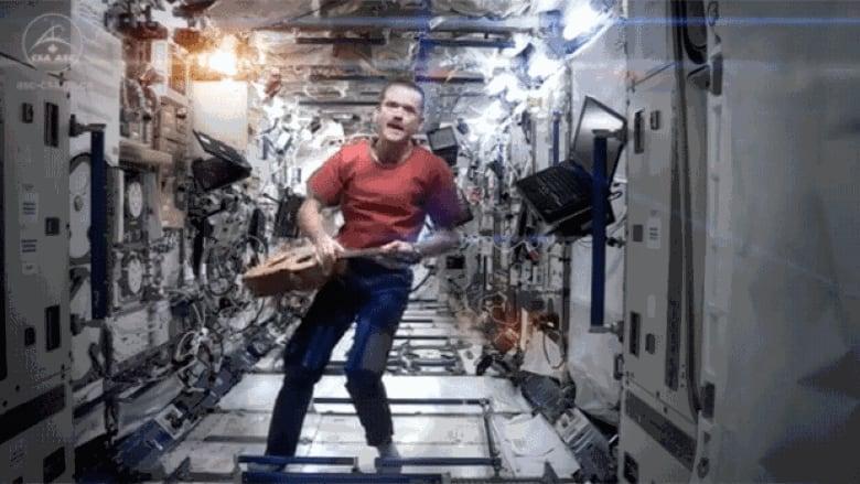 Chris Hadfield music video rockets Saint Johner to success