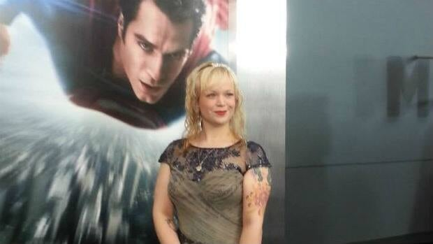 Corner Brook-based singer Allison Crowe makes a cameo appearance in the new Superman movie.