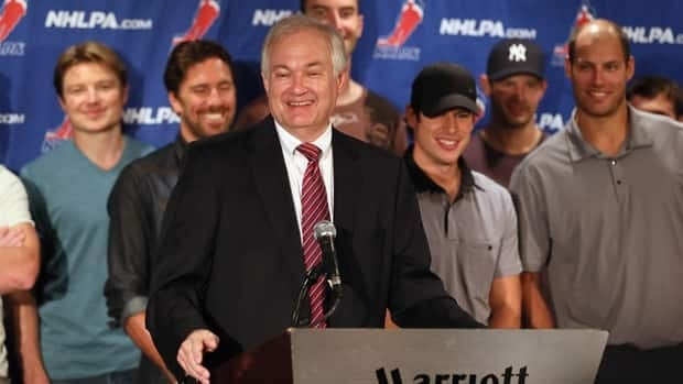 NHLPA executive director Donald Fehr says the players' union has given its consent to realignment in the NHL.