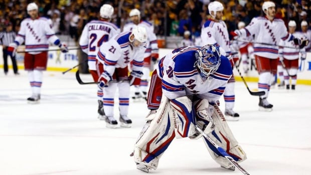 Henrik Lundqvist and the New York Rangers took a step backward this season. Last year, they finished first in the East and advanced to the conference final before losing to the New Jersey Devils.