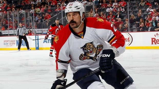 George Parros is one of the NHL's best-known heavyweights.