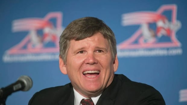 Veteran U.S. college football coach Dan Hawkins spent two years as an analyst with ESPN before deciding to return to the sport as the new head coach of the Montreal Alouettes.