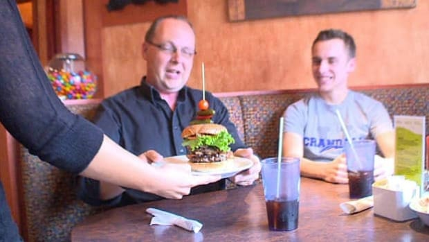 Phinley's served 189 of its Burger Love creations on April 6, and had to call a competitor for more ground beef.