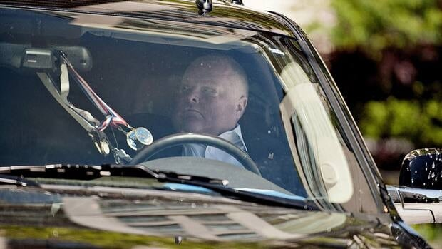 Returning to host his weekly radio show on Sunday, Toronto Mayor Rob Ford denied that a video exists allegedly showing him smoking crack cocaine.