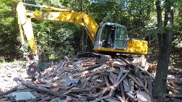 A Victorian-style home in Saint John's Mount Pleasant area was demolished last week.