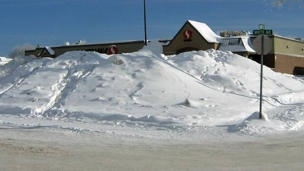 The city of Dryden will also remove some of the snowbanks on its main streets.