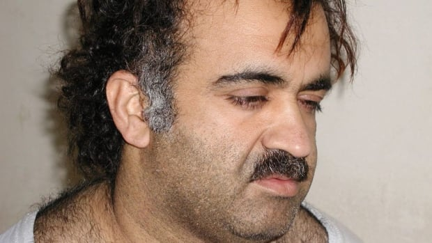 Admitted Sept. 11 plotter Khalid Sheikh Mohammed, shown in this file photograph during his arrest in 2003, reportedly asked his CIA jailers if he could design a vacuum cleaner.