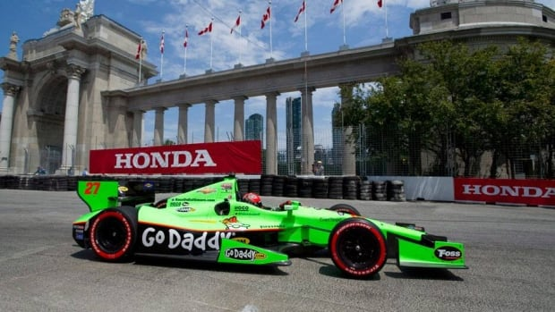 James Hinchcliffe of Oakville, Ont., will try for his first Honda Toronto Indy checkered flag this weekend on the street course on and around the Canadian National Exhibition grounds.