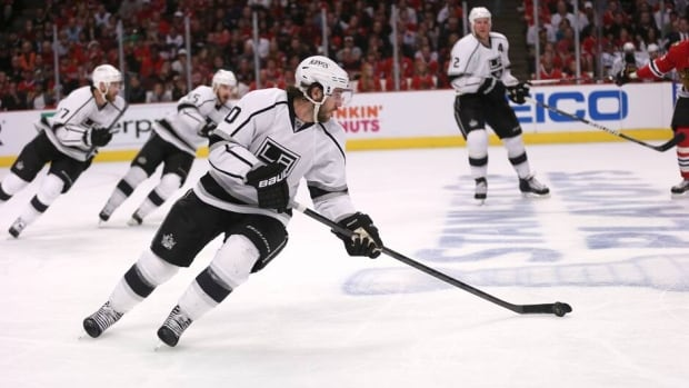 Mike Richards has a team-high 10 playoff points with the Los Angeles Kings.