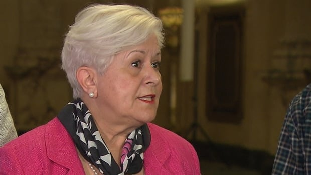 Vision Montréal Leader Louise Harel says the city needs asphalt urgently.