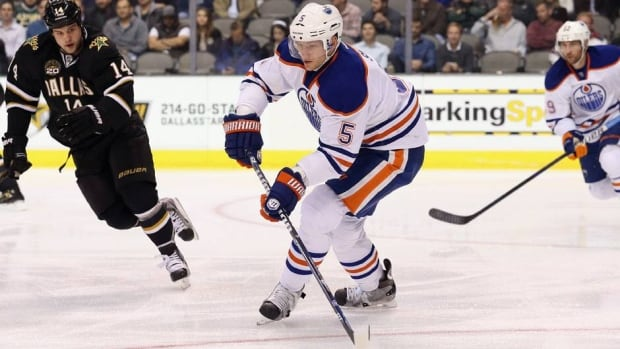 Oilers defenceman Ladislav Smid had his most productive offensive output during the 2011-12 season.
