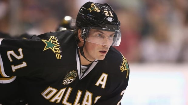 Loui Eriksson's total of 150 goals in the past five seasons were the most on the Stars.