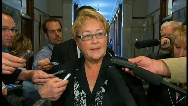 Quebec Premier Pauline Marois says she supports the Quebec Soccer Federation's ban on players wearing turbans, and calls the organization's suspension 'unacceptable.'