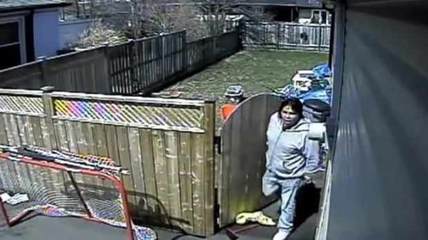 Hamilton police are looking for this suspect caught on camera during a series of break-and-enters on the Hamilton Mountain.
