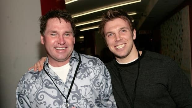 Hockey Night in Canada commentators Kelly Hrudey, left, and P.J. Stock are excited for the NHL season to get underway.