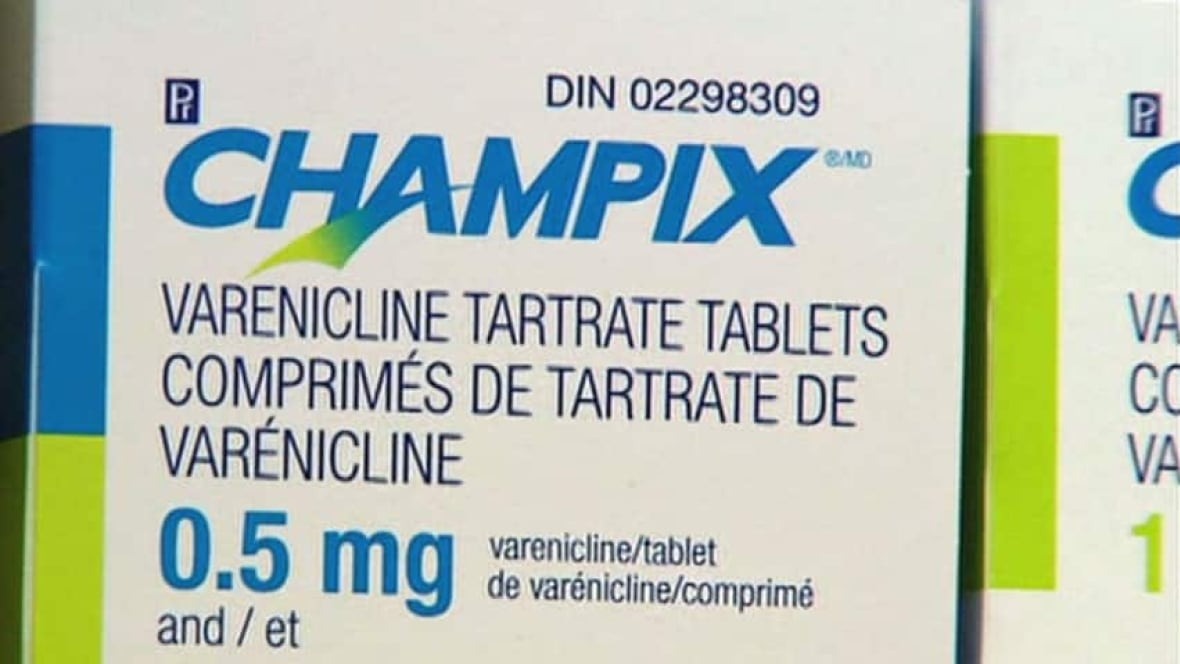 Varenicline champix