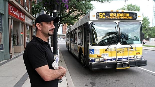 Konstantine Takis says the city's plan for a bus-only lane along King Street brings concerns for safety, parking and future business.