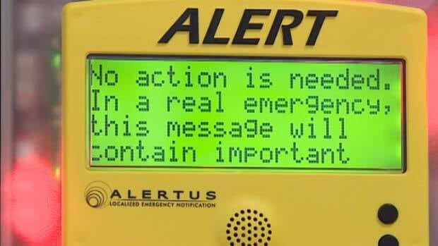 A new alert system at the University of Alberta campus will better notify students, staff and employees in case of emergencies similar to the shooting of four armoured guards last June.