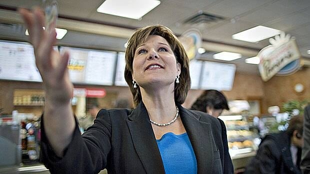 Just follow me. Liberal leader Christy Clark has a lot of ground to cover over the next four weeks. Polls have continuously shown her governing party trailing the opposition NDP.
