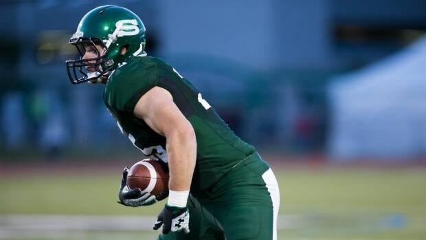 University of Saskatchewan Huskies receiver Charlie Power was drafted by the Calgary Stampeders in the 2013 CFL draft.