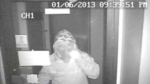 A thief was caught on camera breaking into East Coast Coins on Jan. 6, around 9:30 p.m.