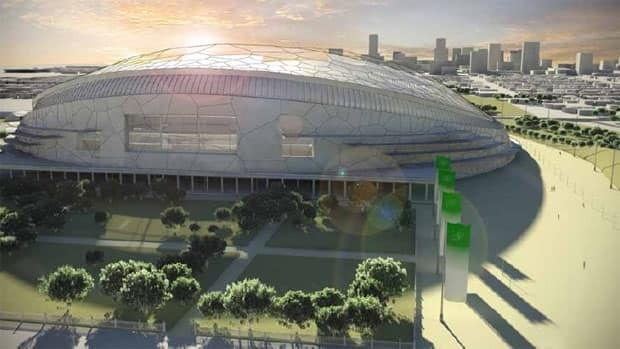 Regina is building a $278-million football stadium and will borrow $100 million for the construction.