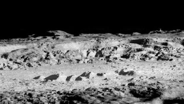 Alien matter found on the moon